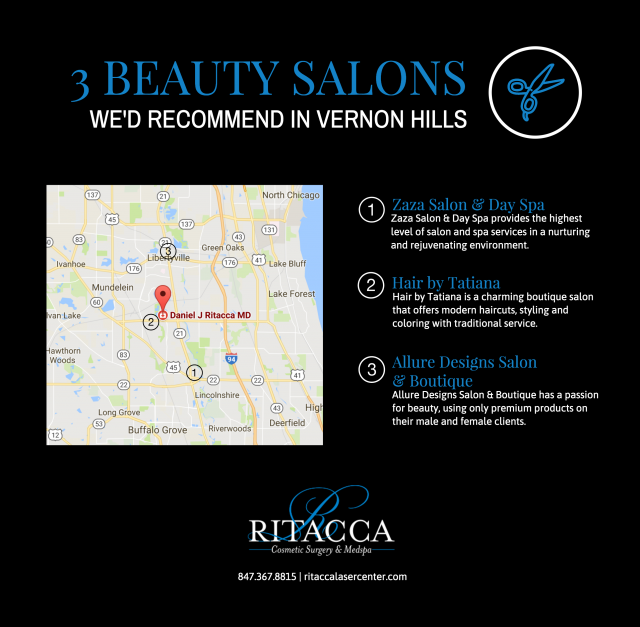 3 Beauty Salons Wed Recommend In Vernon Hills Ritacca
